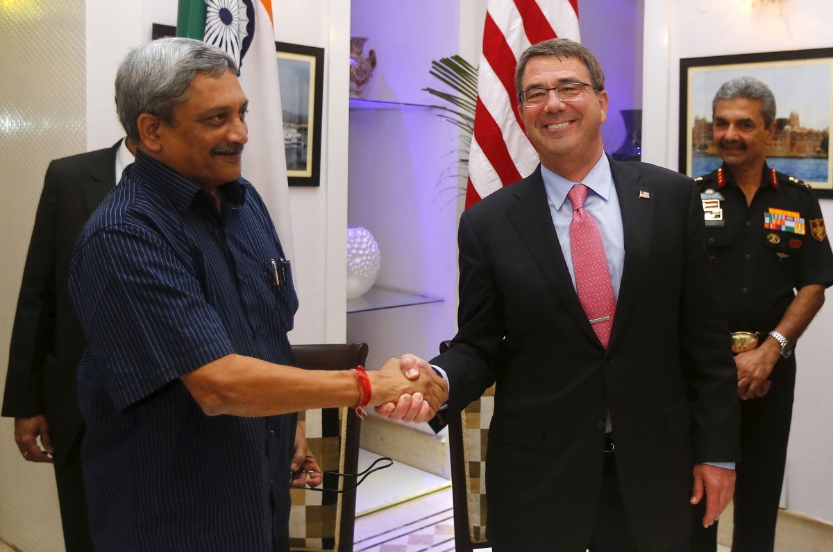 Manohar Parrikar and Ash Carter