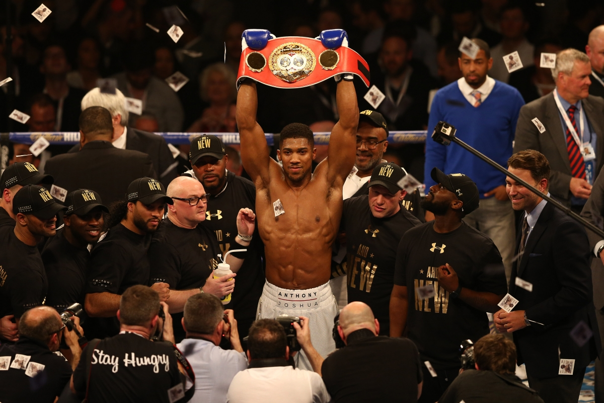 Anthony Joshua currently holds the IBF crown
