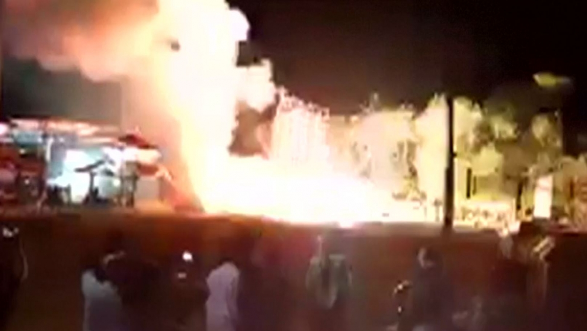Deadly temple fire in Kerala, India