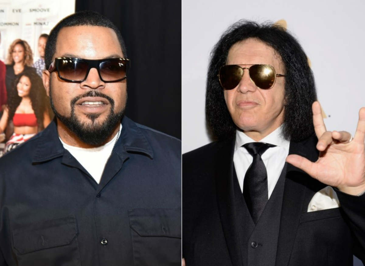 Ice Cube and Gene Simmons