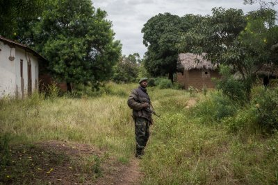 FARDC soldier in DRC