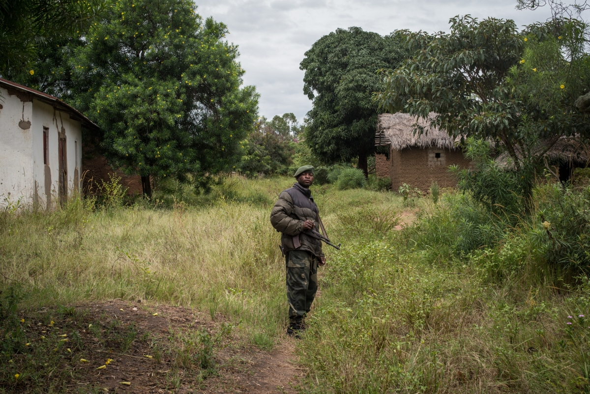 FARDC soldier in DRC