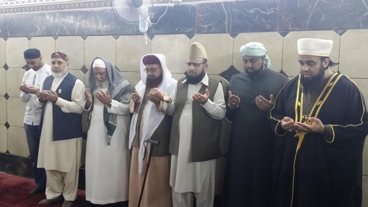 British imams pray in Iraq