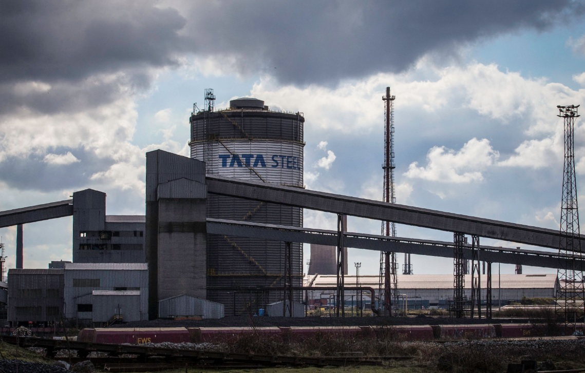 Tata Steel's Scunthorpe Plant