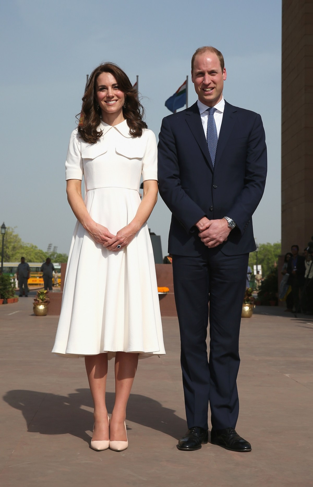 Duchess and Duke royal visit india
