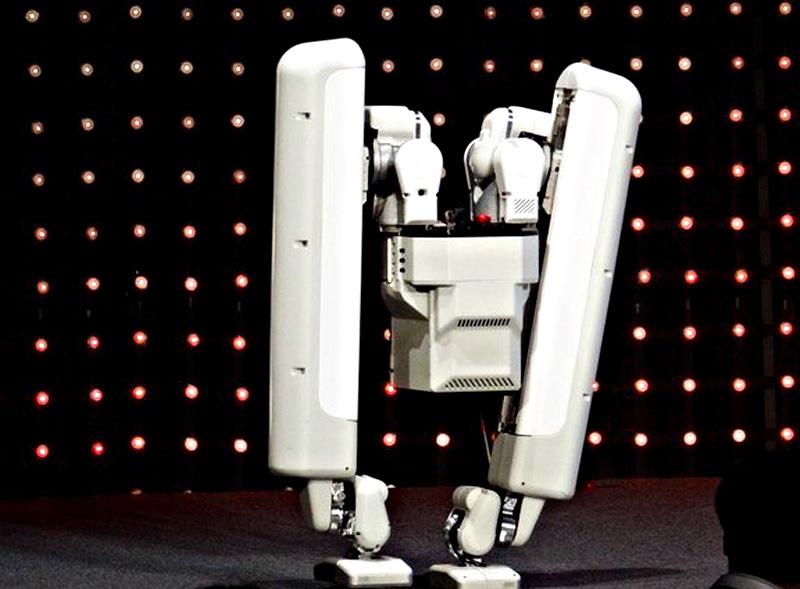Google Schaft's bipedal robot