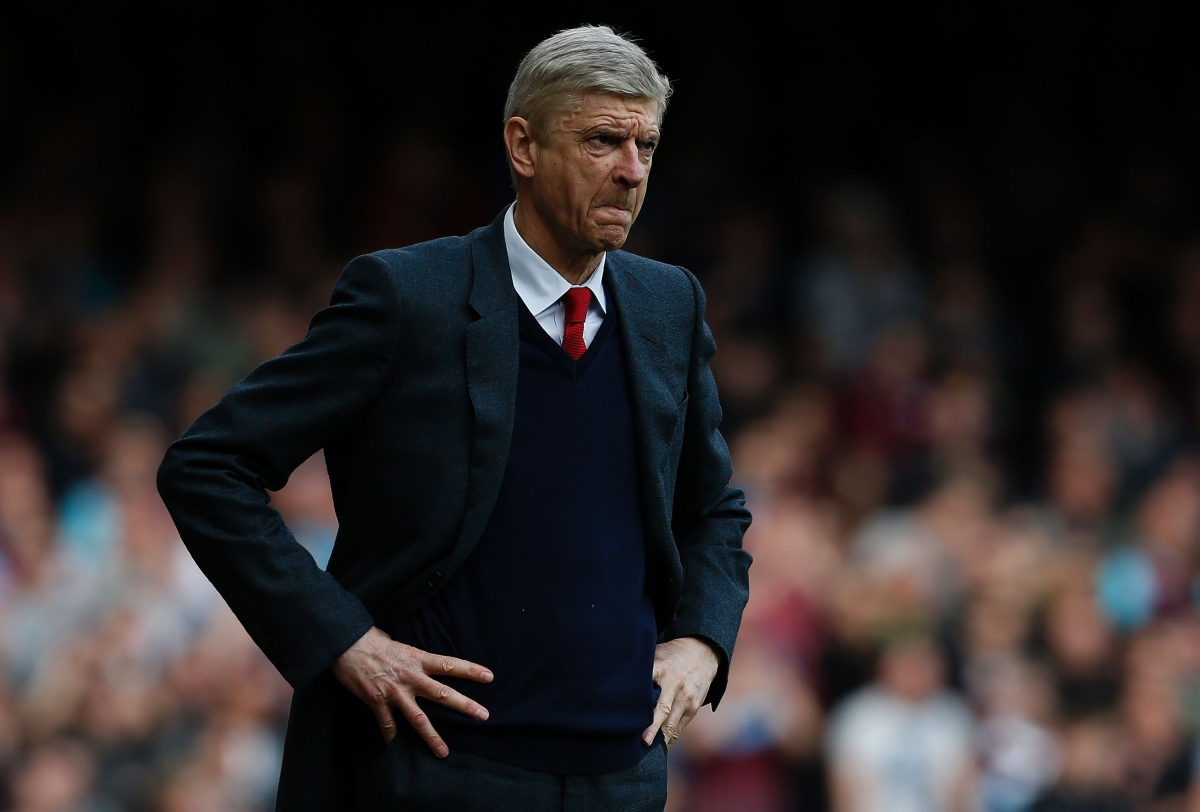 Arsene Wenger has come under severe pressure