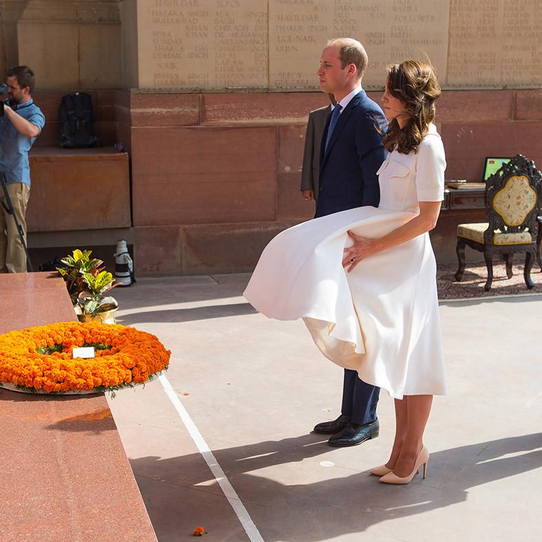 Royal tour India