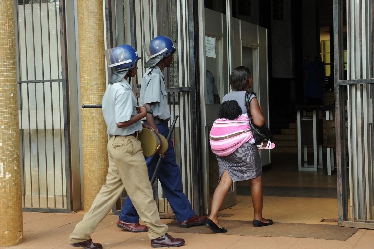 Police in Zimbabwe