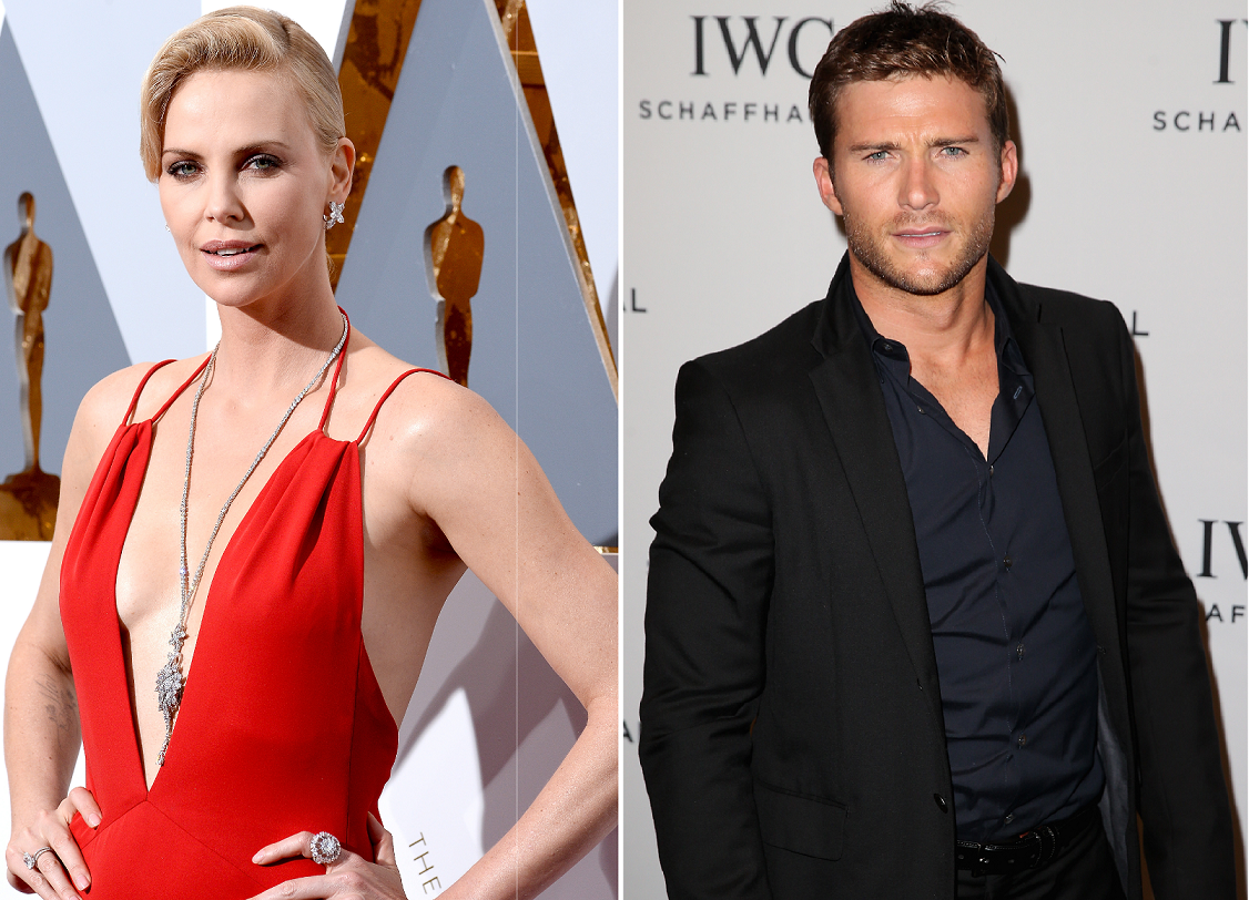 Scott Eastwood and Charlize Theron