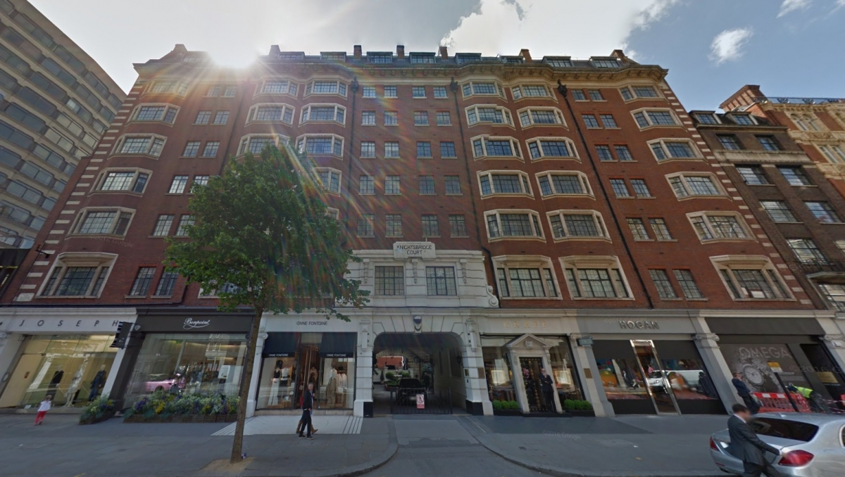 Knightsbridge Court and Sloane Street