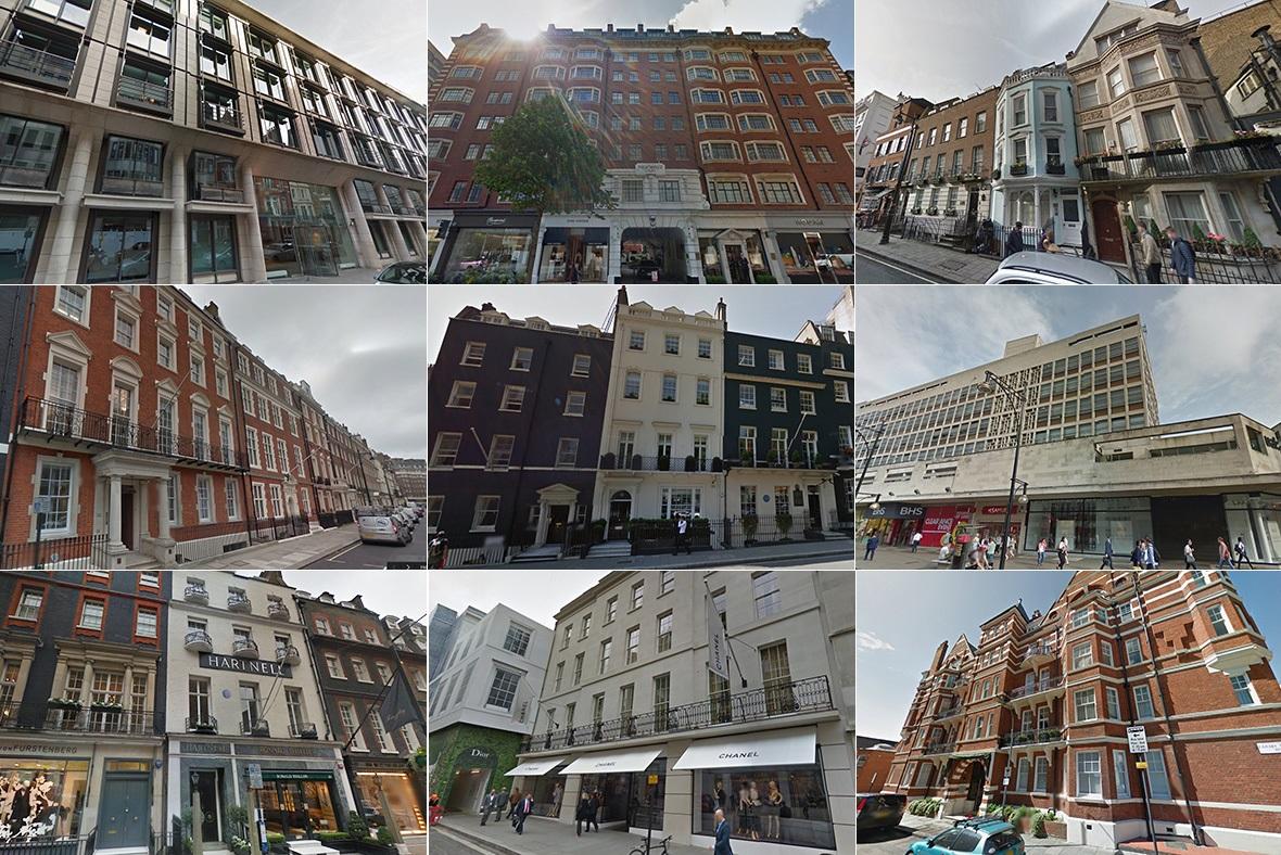 Al-Nahyan property London UAE