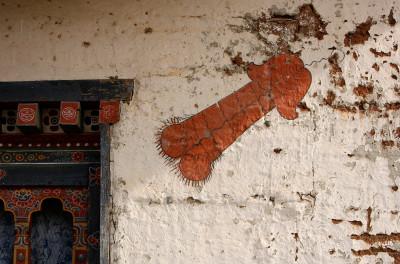 Bhutan penis murals