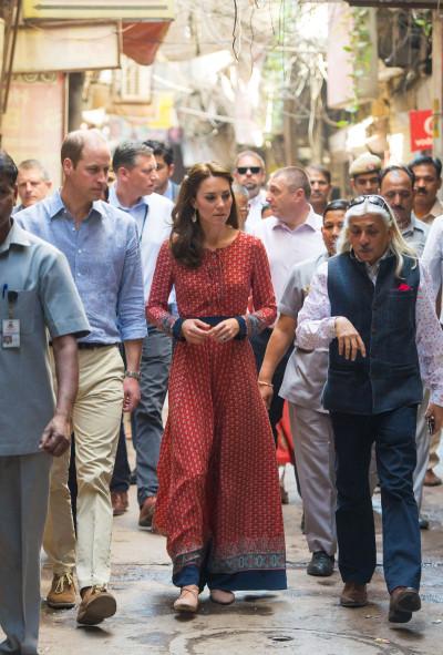 kate middleton indian tour