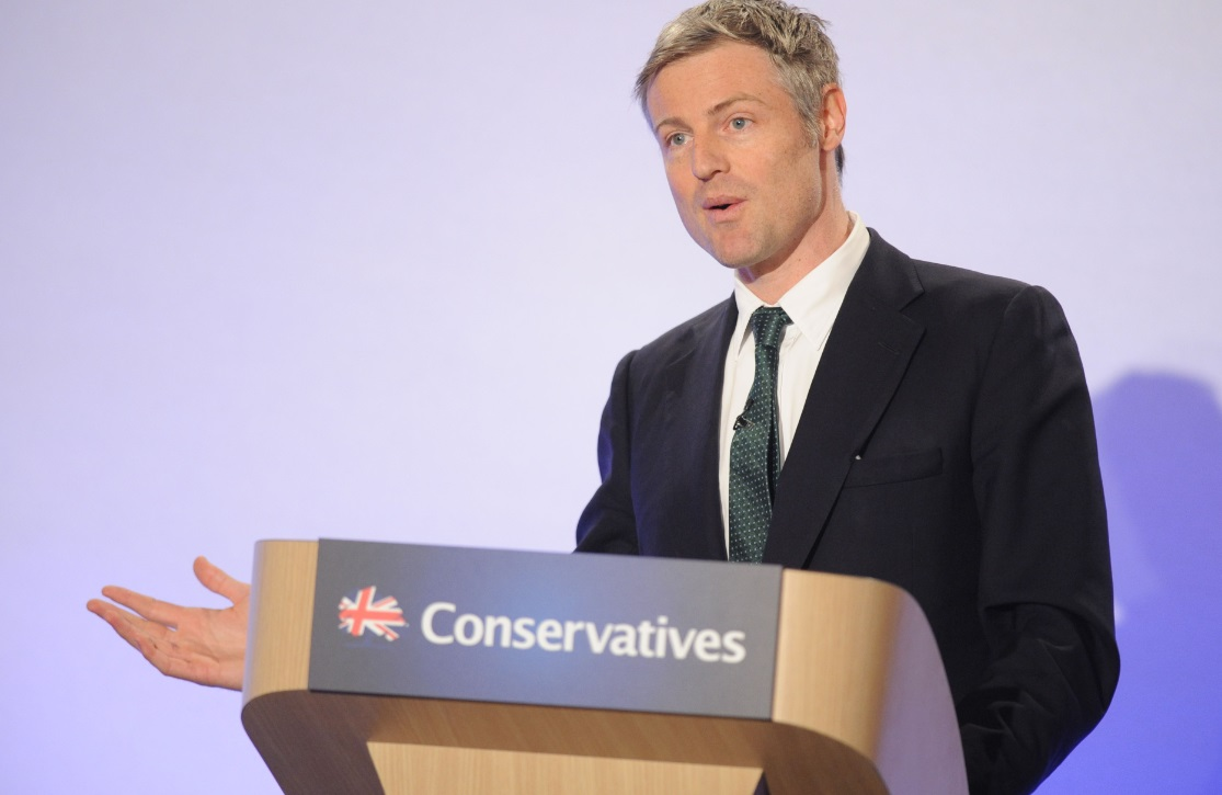 Zac Goldsmith manifesto launch
