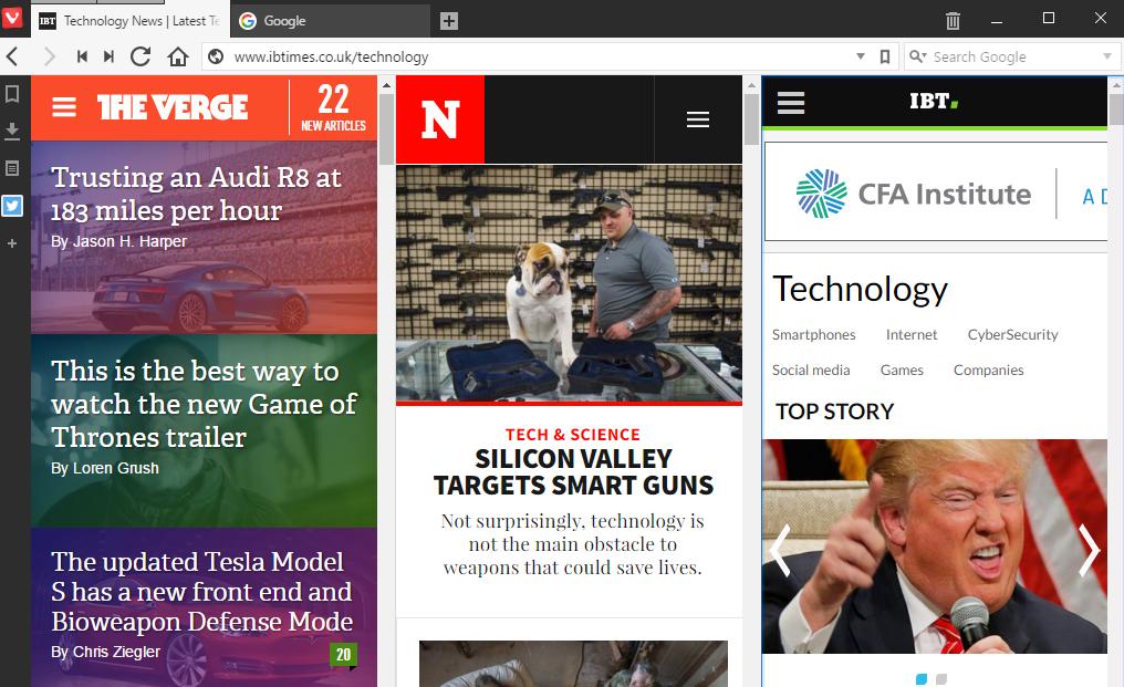 Vivaldi Browser Features 7