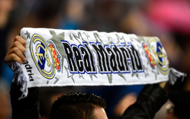Real Madrid fans celebrate