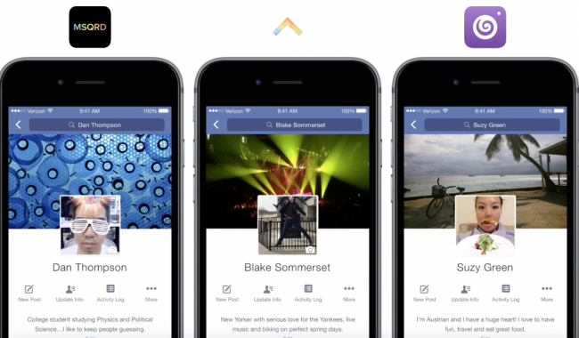 Jazz up your Facebook profile picture with third-party video
