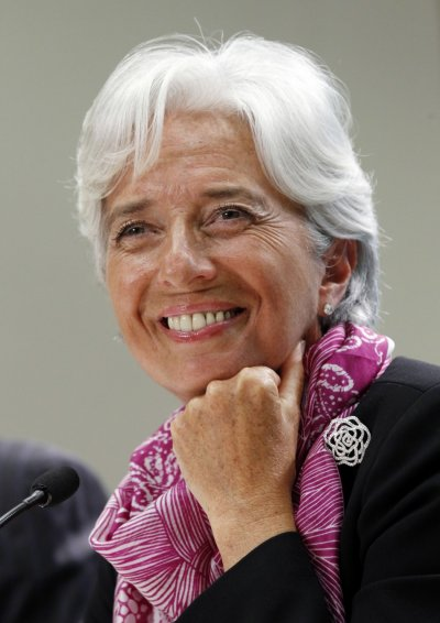 9.Christine Lagarde IMF Managing Director