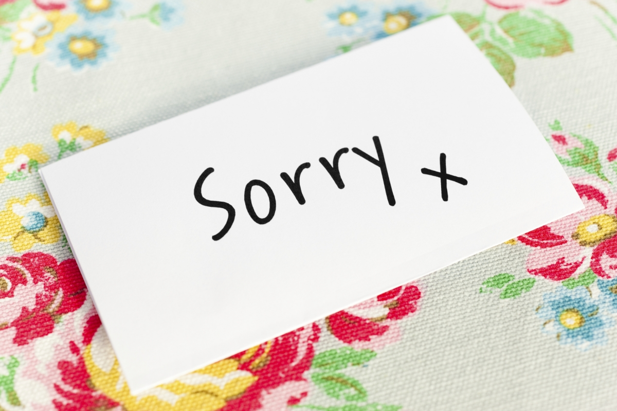 apology components