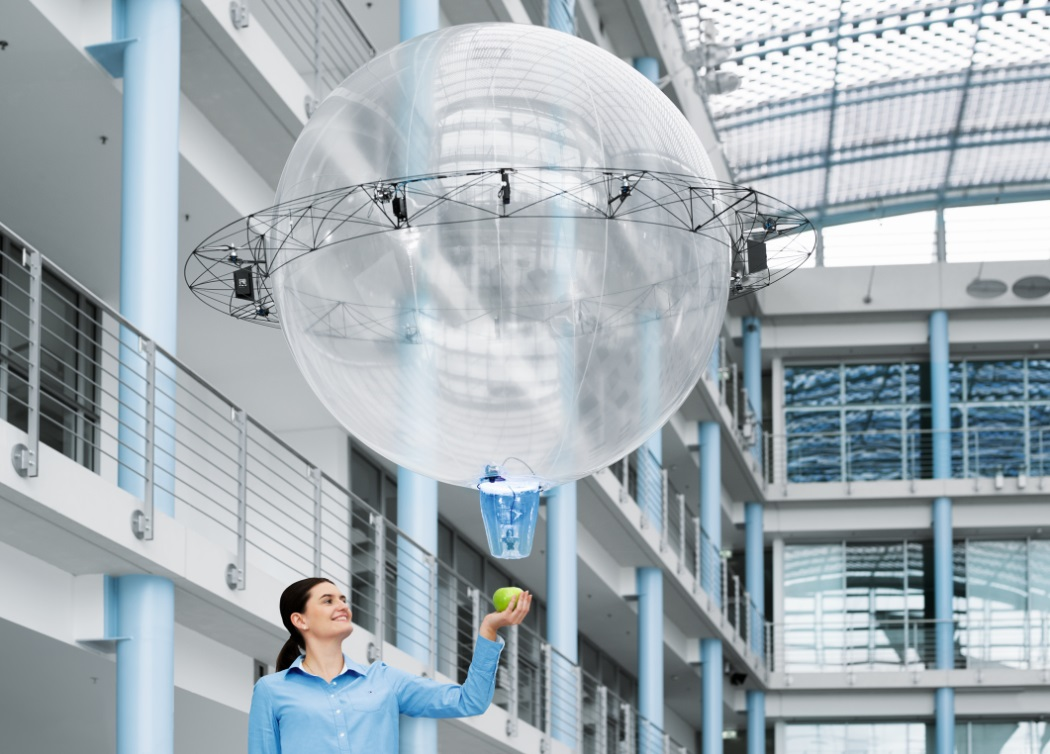 Festo FreeMotionHandling Drone