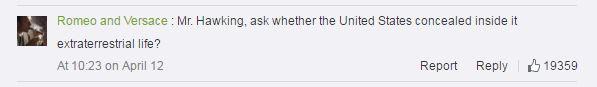 Hawking fan Weibo comment-2