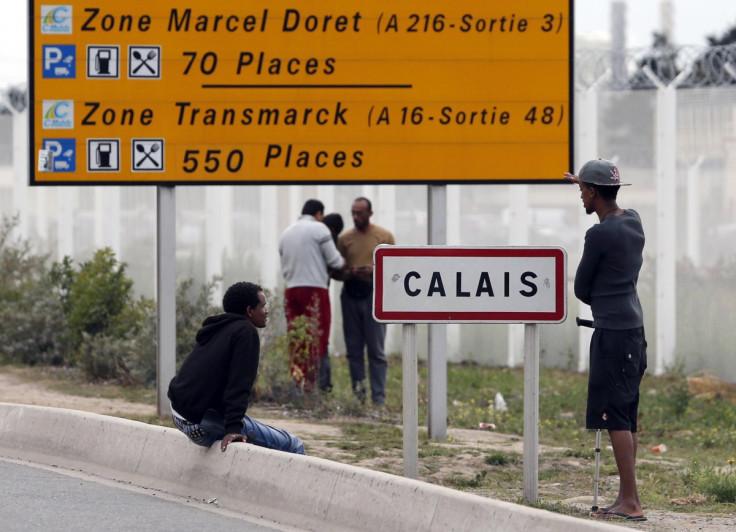 Refugees Calais
