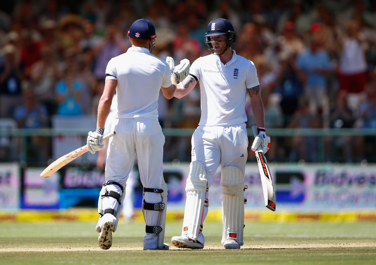 Johnny Bairstow (left) and Ben Stokes