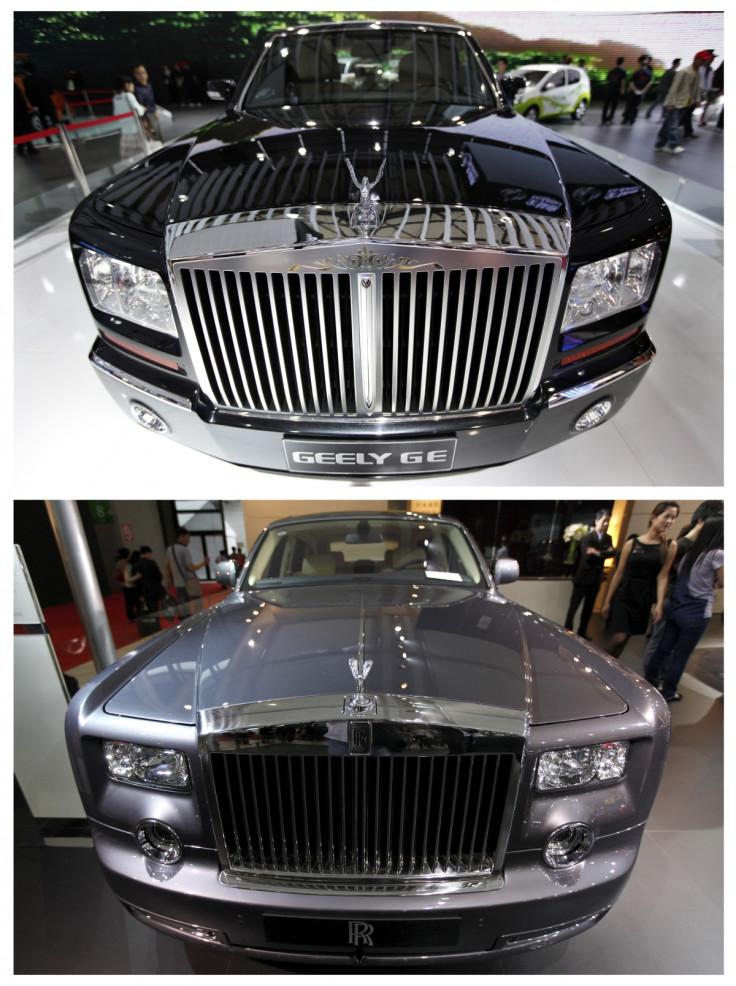China fake car