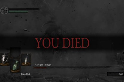 Dark Souls Original You Died