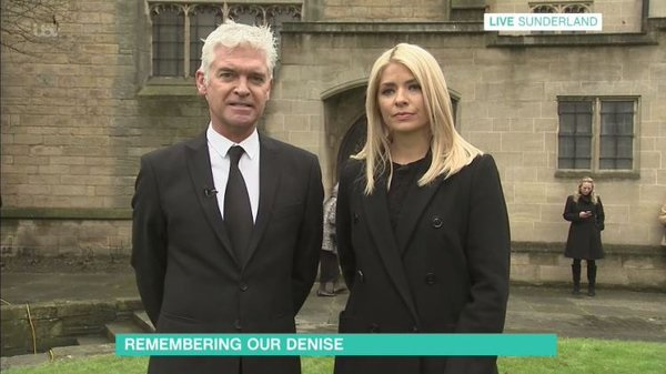 Denise Robertson funeral