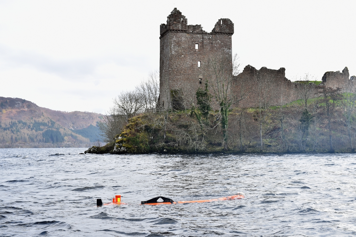 Loch Ness monster double discovered by robot submarine