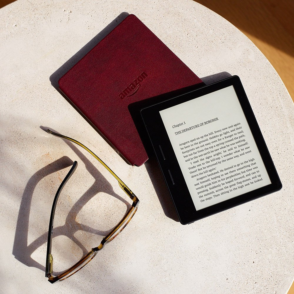 The all new Kindle Oasis