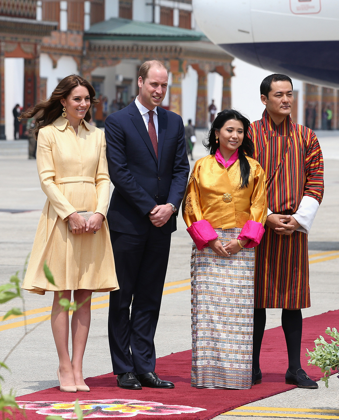 Royal Tour India and Bhutan