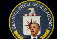 Barack Obama at CIA