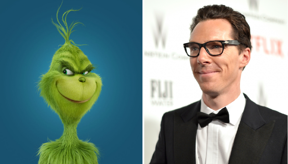 Benedict Cumberbatch, Grinch
