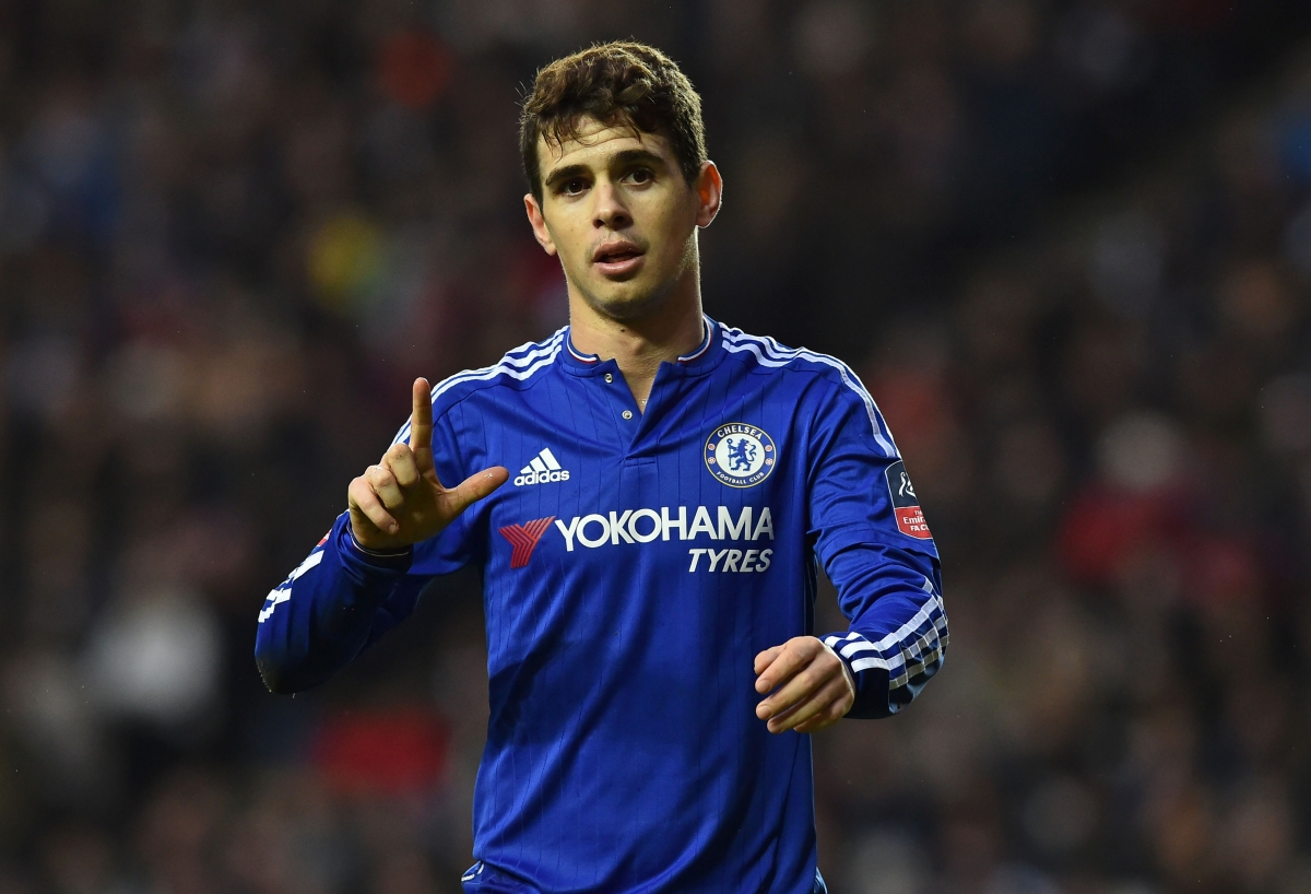 Oscar has struggled for Chelsea this season