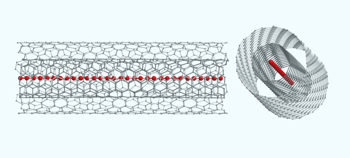 Carbyne world's strongest material