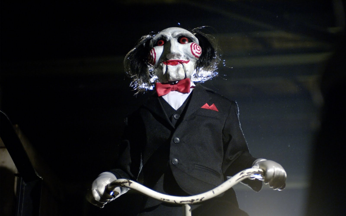 Billy the puppet from the Saw movies