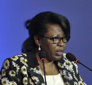 Republic of Congo ex-government minister Claudine Munari
