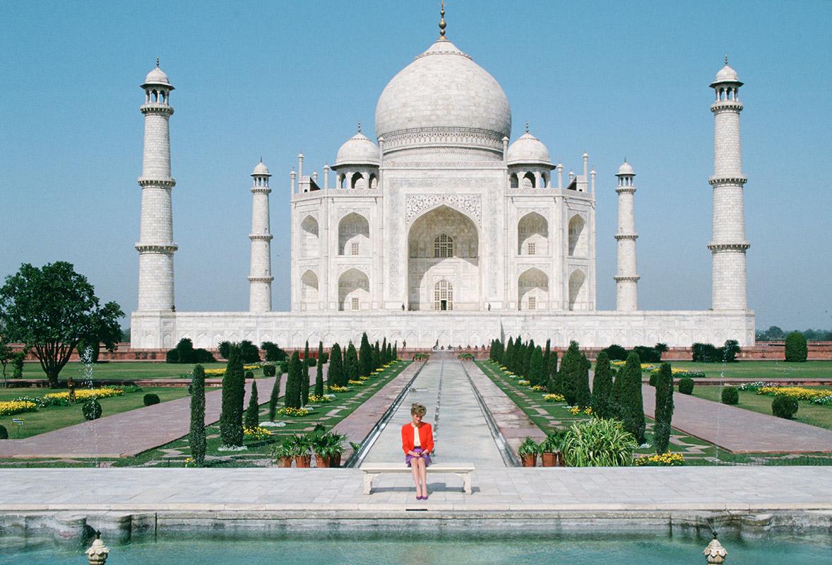 Princess Diana Taj Mahal
