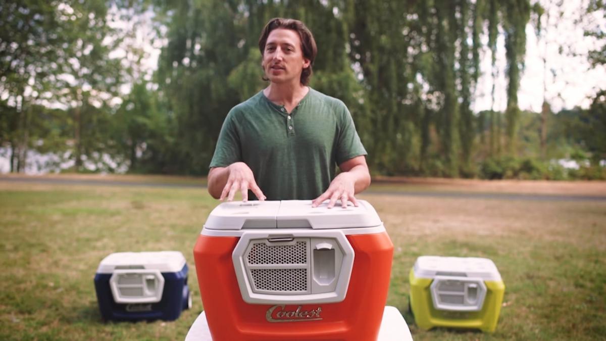 Coolest Cooler founder Ryan Grepper