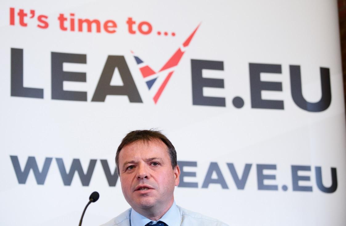 Arron Banks, Leave.EU co-founder