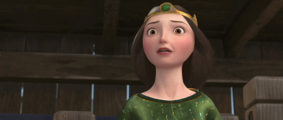 Queen Elinor from Disney's Brave