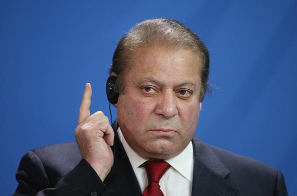 Pakistan PM Nawaz Sharif