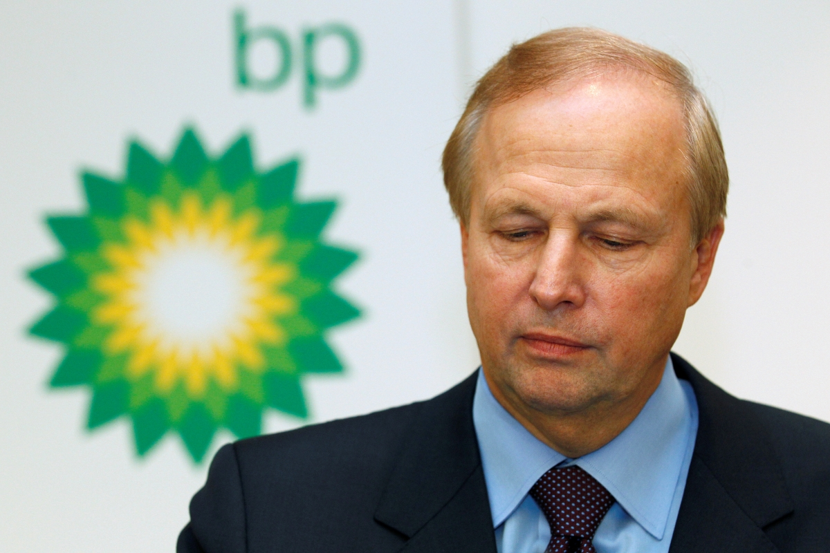 BP chief Bob Dudley