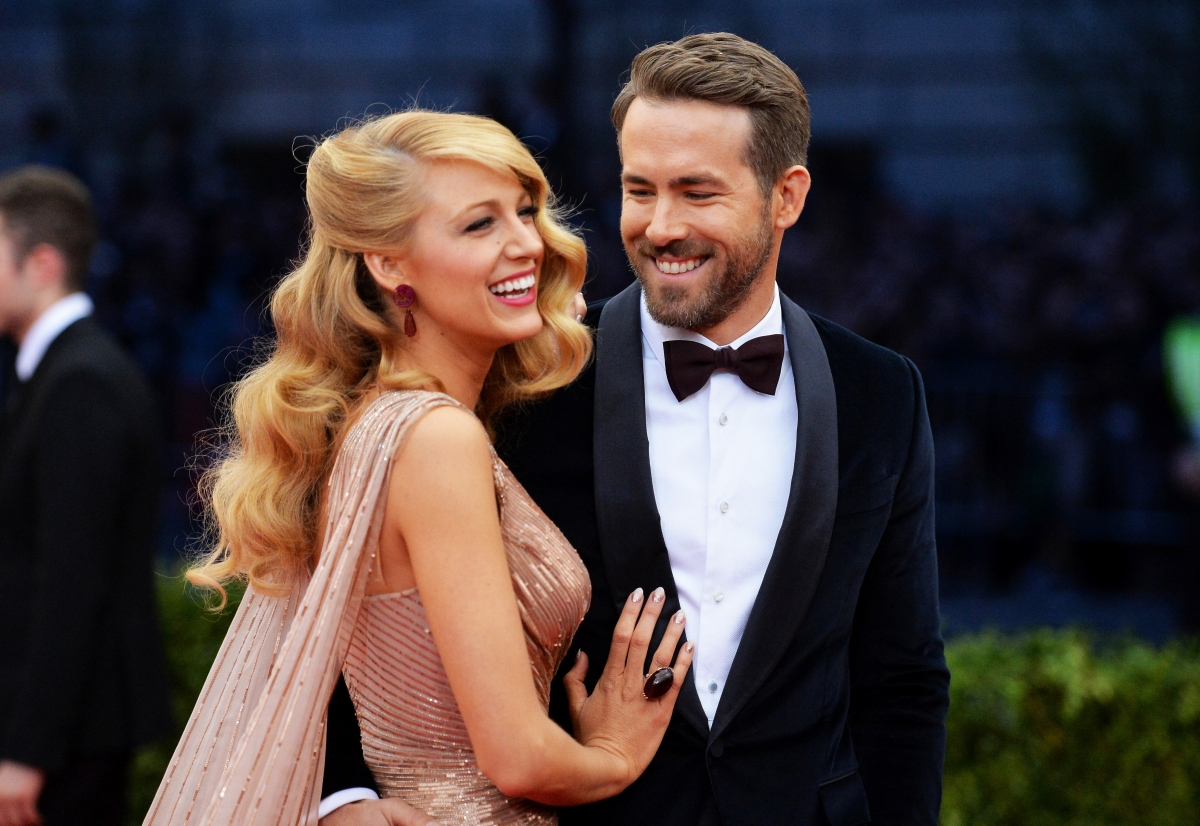 Ryan Reynolds And Blake Lively Here's how Ryan Reynol...