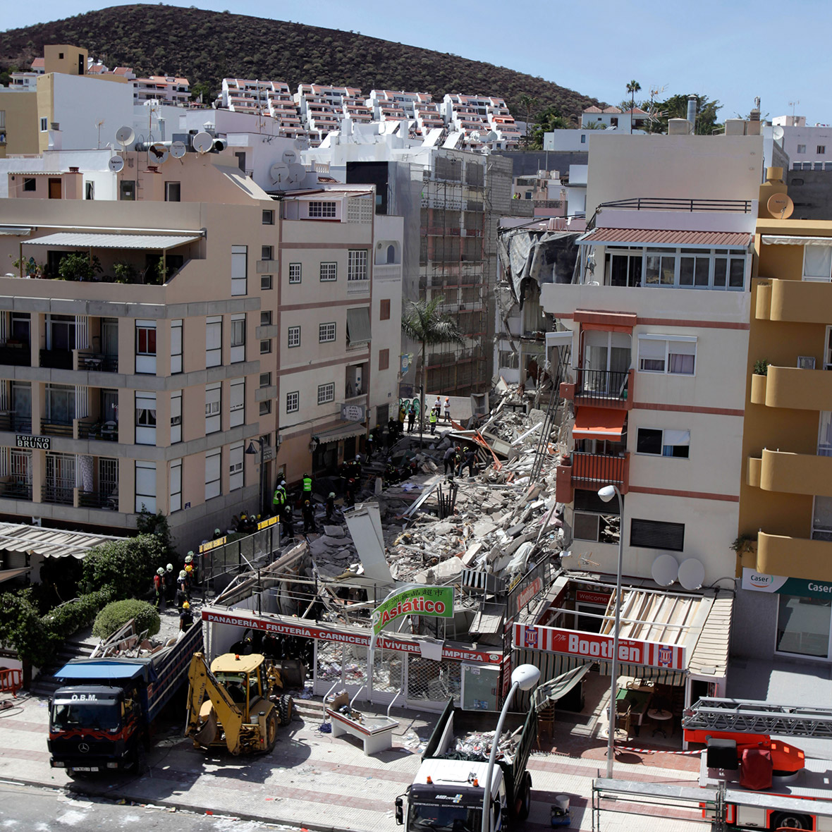 Tenerife building collapse