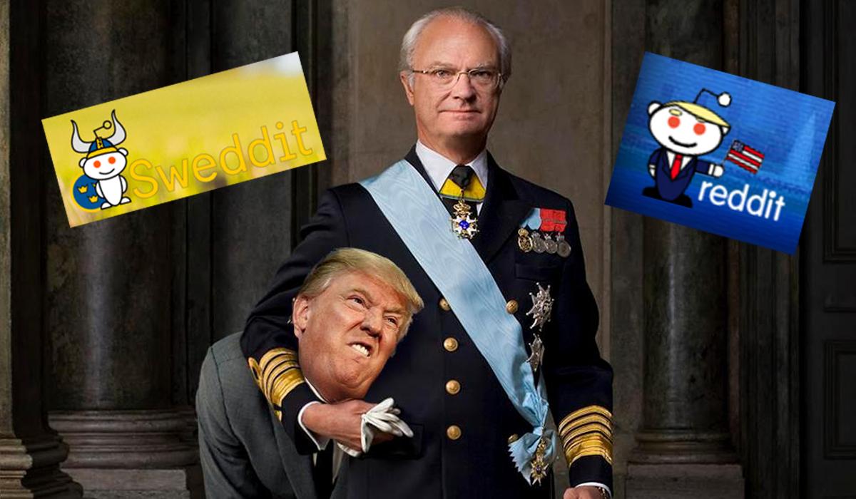 Sweden Declares War On Donald Trump Over Penis Joke On