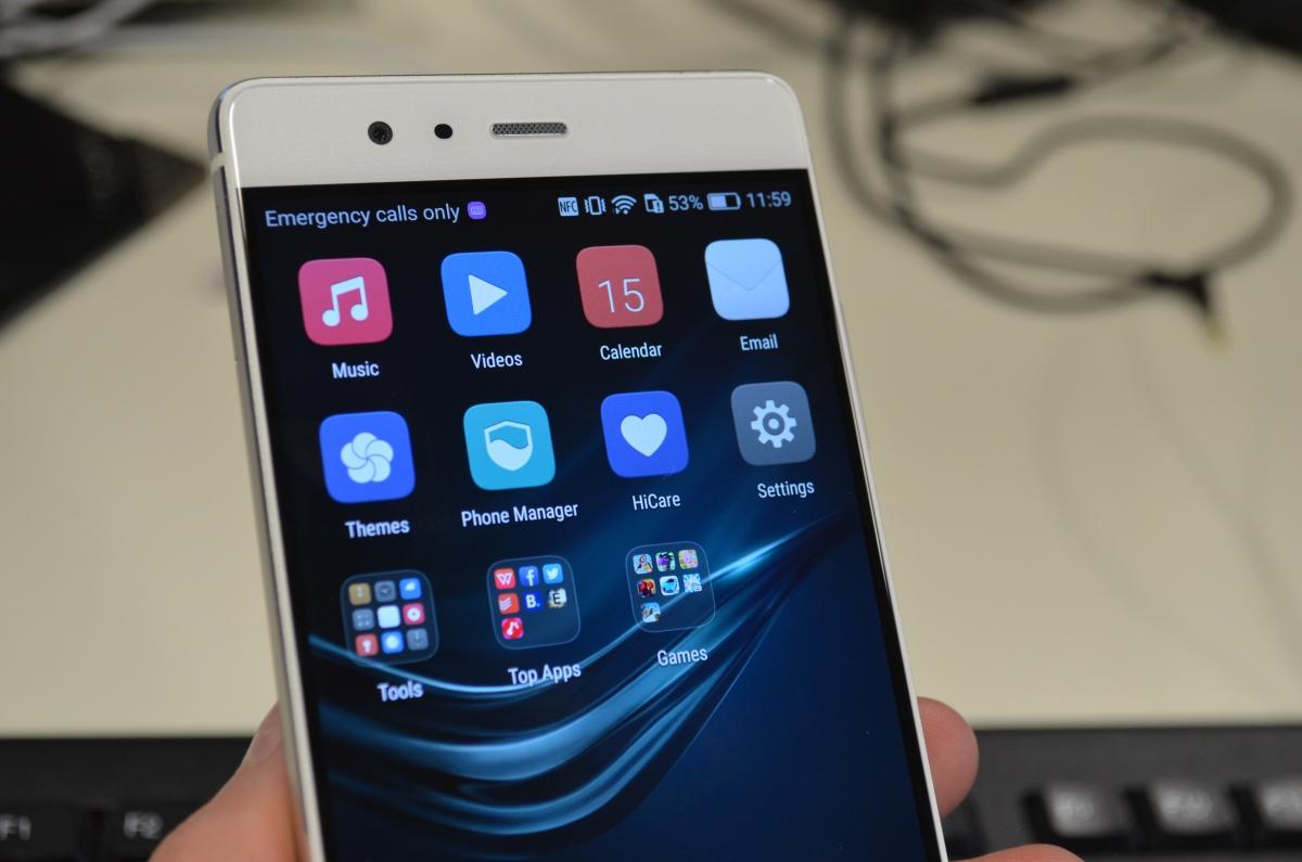 Huawei P9 software